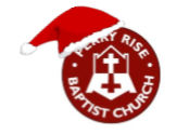 Santa's hat on PRBC logo